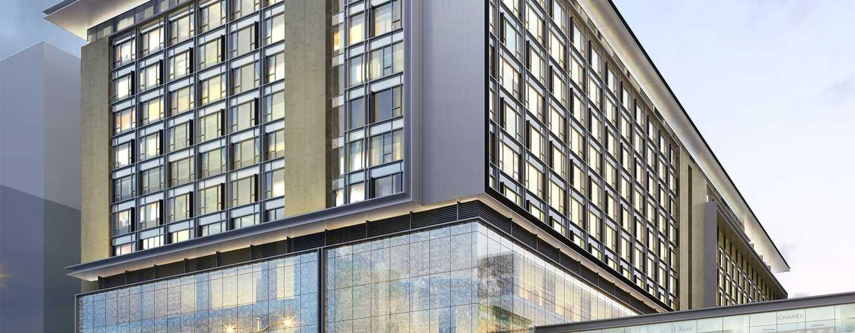 Hilton Manila hotel, Philippines - Exterior