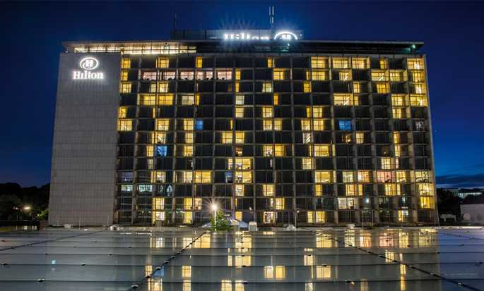 Hilton Munich Park hotel, Germany - Hotel exterior