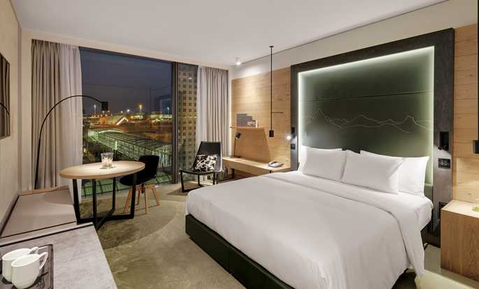 Hilton Munich Airport, Germany - King room