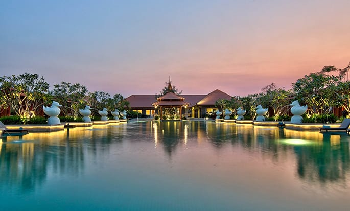 Hilton Nay Pyi Taw hotel, Myanmar - Outdoor Pool