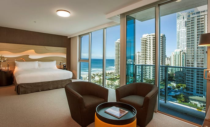 Hilton Surfers Paradise hotel, Australia - King Executive Room
