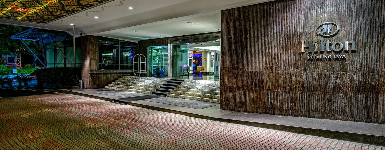 Hilton Petaling Jaya hotel, Malaysia - Lobby entrance