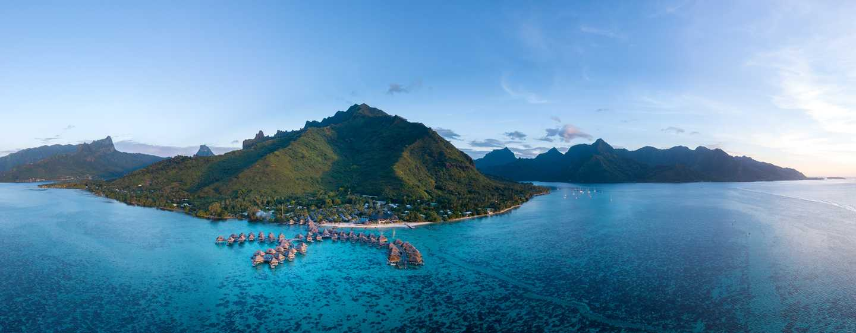 Hilton Moorea Lagoon Resort and Spa hotel, French Polynesia - Exterior View
