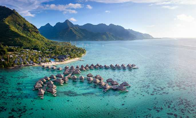 Hilton Moorea Lagoon Resort and Spa hotel, French Polynesia - Exterior View