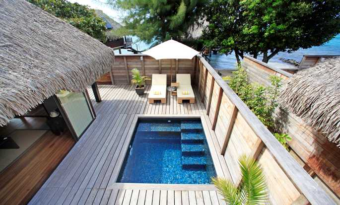 Hilton Moorea Lagoon Resort and Spa hotel, French Polynesia - Deluxe Garden Pool Bungalow