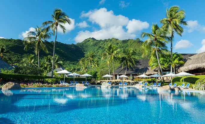 Hilton Moorea Lagoon Resort and Spa hotel, French Polynesia - Swimming Pool
