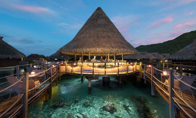 Hilton Moorea Lagoon Resort and Spa hotel, French Polynesia - Toatea Restaurant