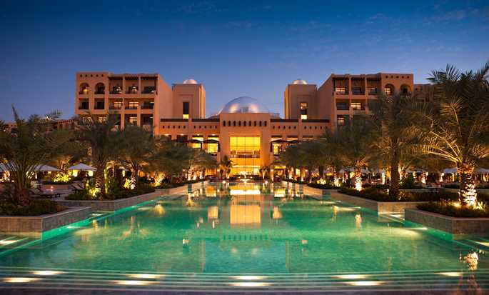Hilton Ras Al Khaimah Resort & Spa hotel, UAE - Outdoor Pool and Hotel