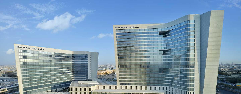 Hilton Riyadh Hotel & Residences - Hotel exterior