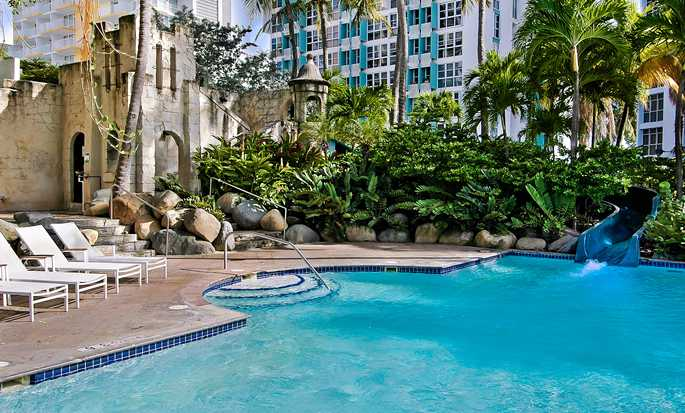 The Condado Plaza Hilton hotel, Puerto Rico - Outdoor Pool