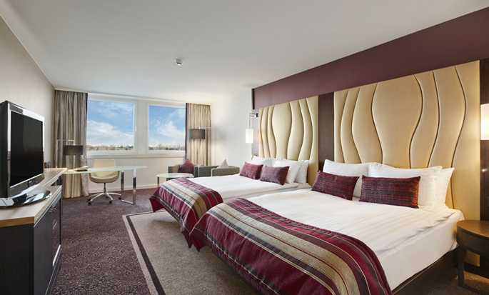 Hilton Vienna Danube Waterfront hotel, Austria - Double Queen Room Plus