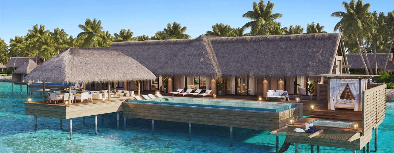 Waldorf Astoria Maldives Ithaafushi, Maldives - Overwater Villa Exterior