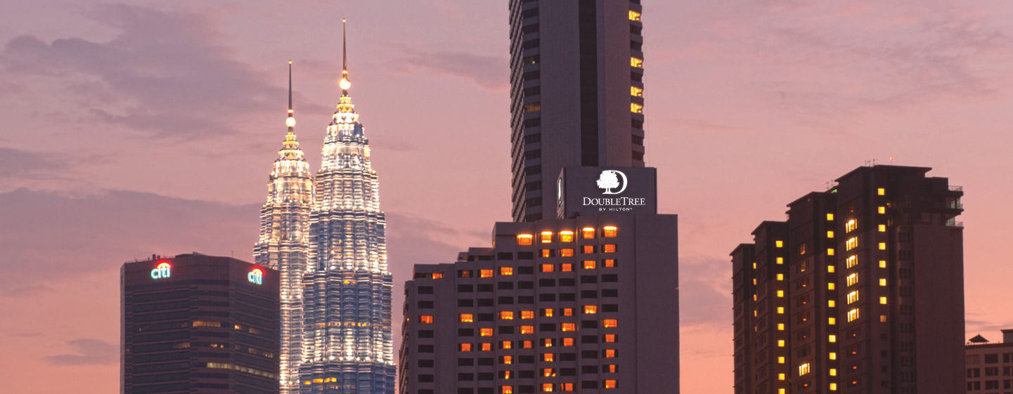 Petronas Towers and DoubleTree by Hilton Kuala Lumpur