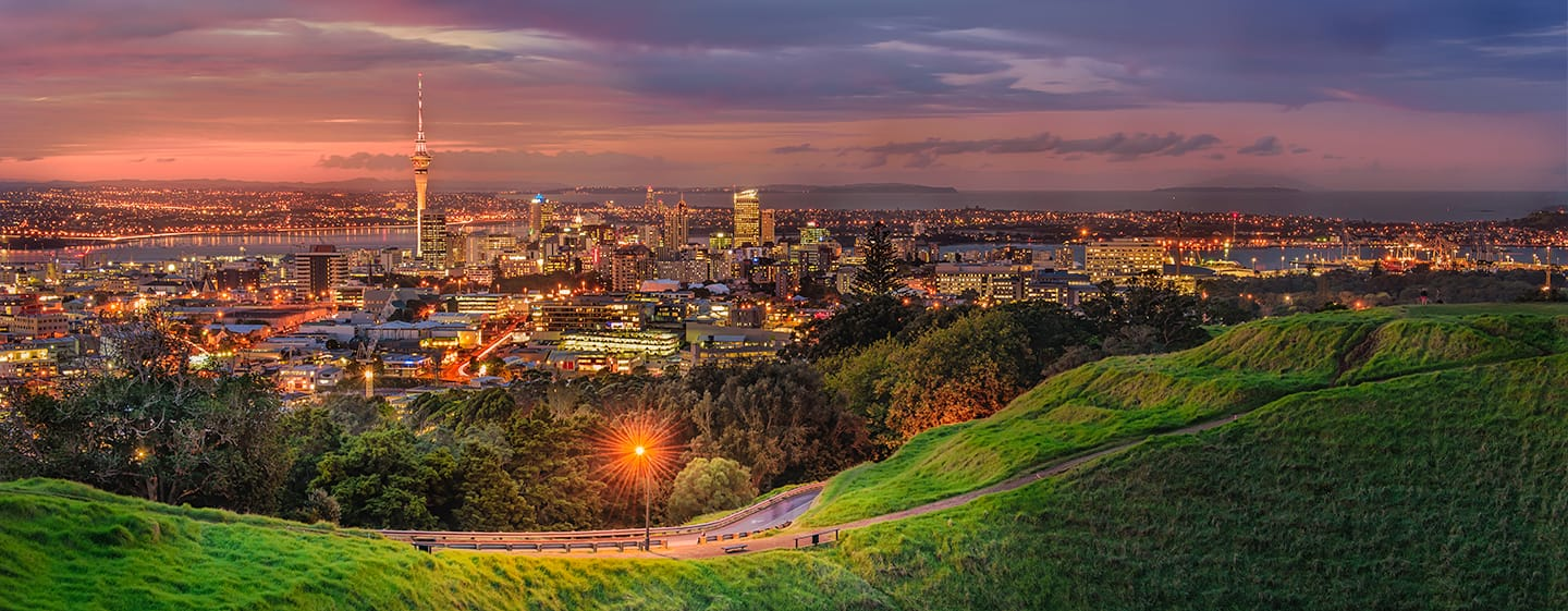 Auckland Skyline - New Zealand