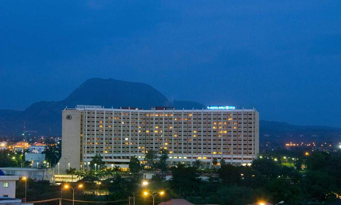 Transcorp Hilton Abuja hotel, Nigeria - Exterior