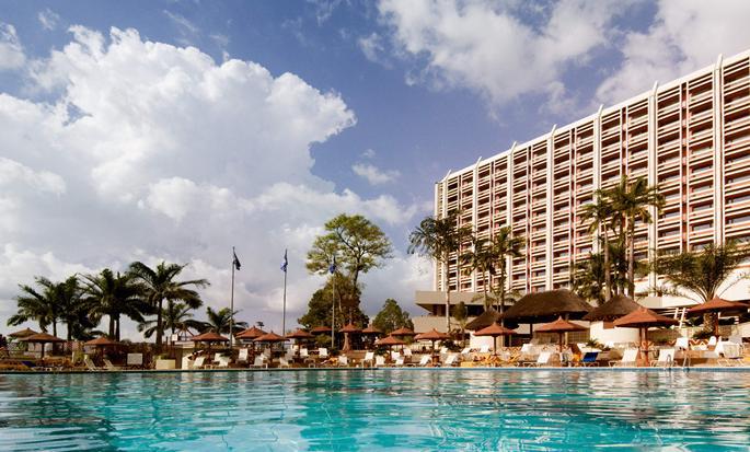 Transcorp Hilton Abuja hotel, Nigeria  - Exterior with pool