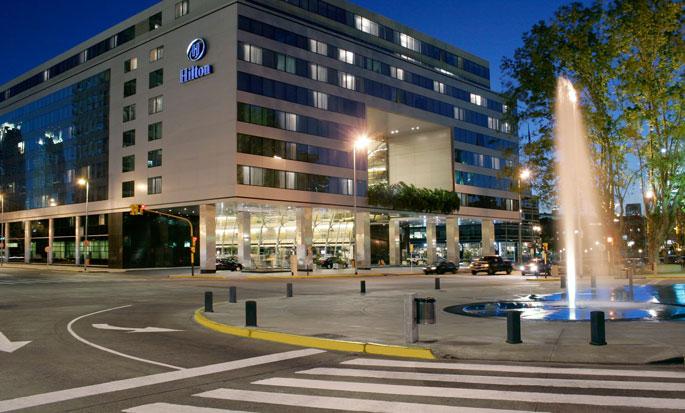 Hotel Hilton Buenos Aires, Argentina - Fachada del hotel