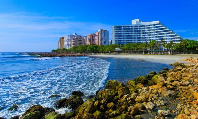 Hilton Cartagena Hotel, Colombia - Hotel exterior