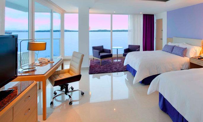 Hilton Cartagena Hotel, Colombia - Double Guestroom