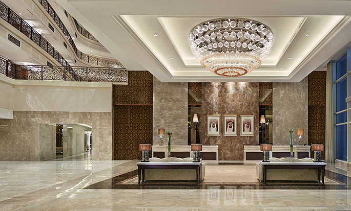 Waldorf Astoria Dubai Palm Jumeirah, UAE - Lobby