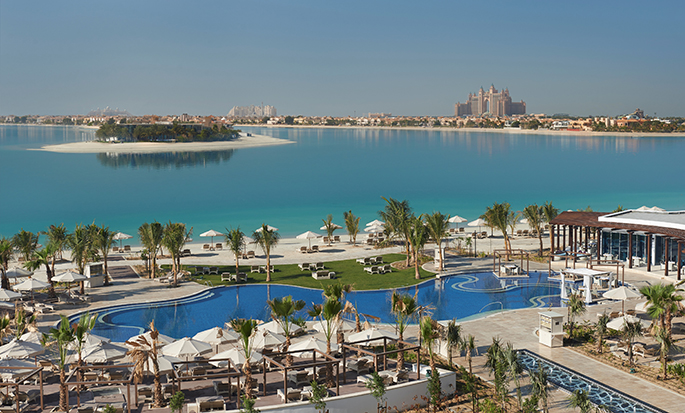 Waldorf Astoria Dubai Palm Jumeirah, UAE - Pool and Ocean view