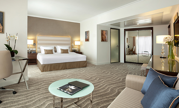 Hilton Eilat Queen of Sheba hotel, Israel - King Alcove Room