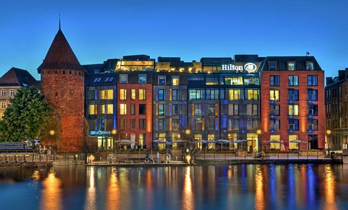 Hilton Gdansk, Poland - Hotel Exterior