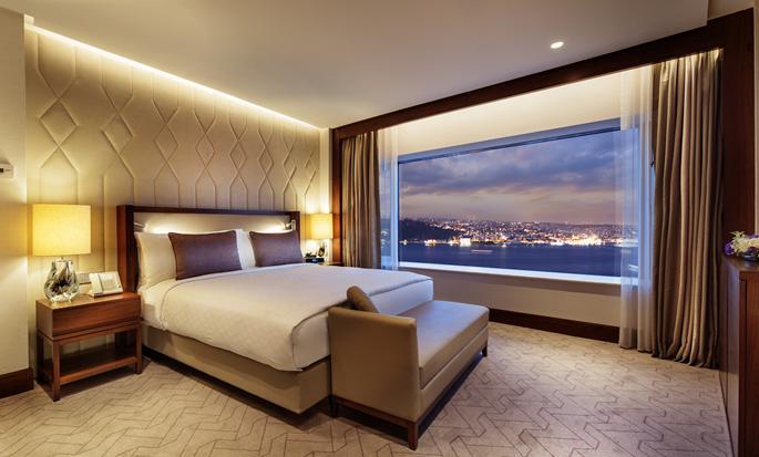 Conrad Istanbul hotel, Turkey - Suite