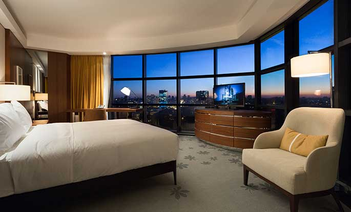 Hilton Kyiv hotel, Ukraine - King Guest Room