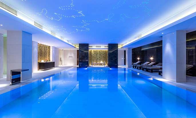 Hilton Kyiv hotel, Ukraine - Pool