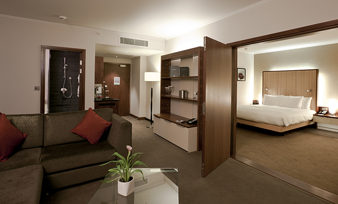 Hilton London Heathrow Airport Terminal 5 - Suite