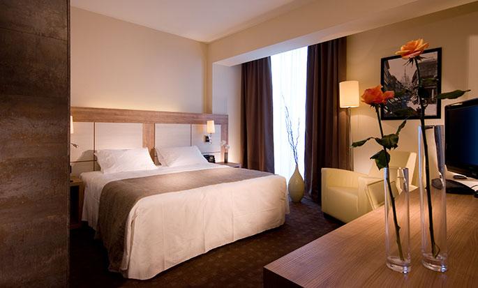 Hôtel DoubleTree by Hilton Milan, Italie- Chambre avec très grand lit
