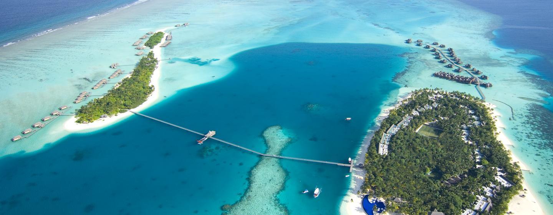 Conrad Maldives - Aerial View