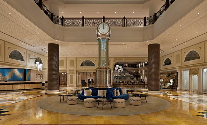 Waldorf Astoria Ras Al Khaimah hotel, UAE - Lobby
