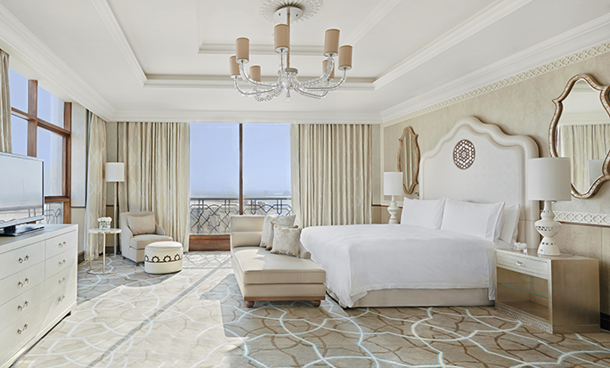 Waldorf Astoria Ras Al Khaimah hotel, UAE - Tower Suite Bedroom
