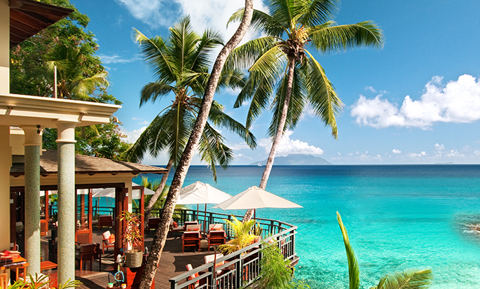 Hilton Seychelles Northolme Resort and Spa - Ocean View Bar and Restaurant
