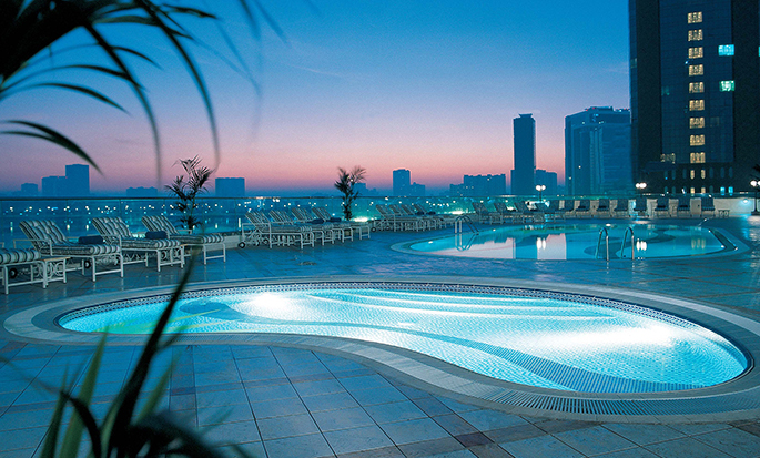 Hilton Sharjah Hotel, UAE - Outdoor Pool